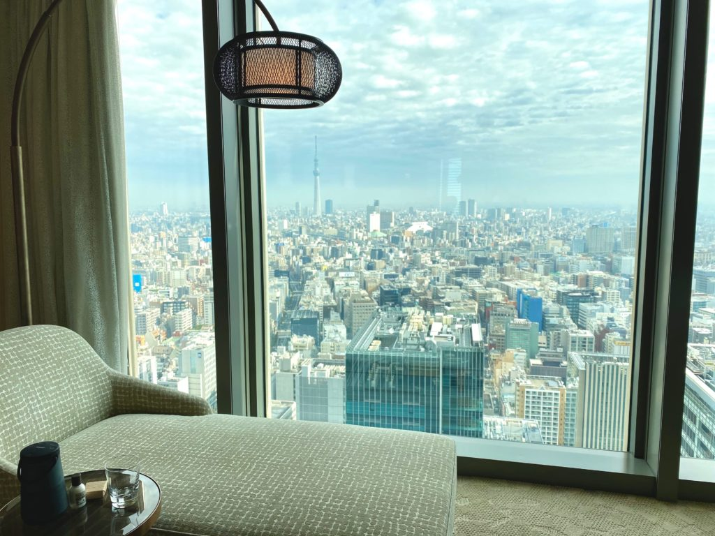 マンダリンオリエンタル東京お部屋からの絶景
